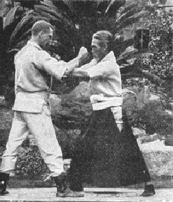 Edward William Barton-Wright, a British Engineer, who created the British Martial art of Bartitsu, based on his learning of Shinden Fudo Ryu Kempo whilst in Japan